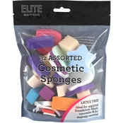 Elite Cosmetic Sponges, 32 pk.