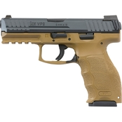 HK VP9 9MM 4.09 in. Barrel 10 Rds 3-Mags NS Pistol Black