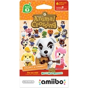 Nintendo amiibo Cards, Animal Crossing Series 3, 6 Pk.