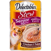 Hartz Delectables Lickable Treat Chicken and Tuna Stew