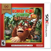 Nintendo 3DS Nintendo Selects: Donkey Kong Country Returns 3D (3DS)