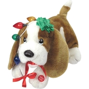 Chantilly Lane Trouble Musical Christmas Dog