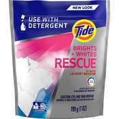 Tide Brights + Whites Rescue In-Wash Laundry Booster Pacs, 9 ct.