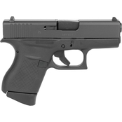 Glock 43 9MM 3.41 in. Barrel 6 Rds 2-Mags Pistol Black US Mfg