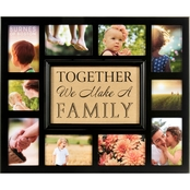 Burnes Of Boston Burlap Together We Make A Family Collage Frame