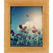 Gallery Solutions 8 x 10 Natural Hardwood Frame