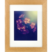 Gallery Solutions 11 x 14 Natural Hardwood Frame, Matted To 8 x 10