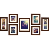 Gallery Perfect 7 Pc. Black Create A Gallery Frame Kit