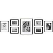 Gallery Perfect 7 Pc. Black Frame Kit