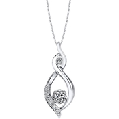 Sirena Collection 10K White Gold 1/4 CTW Fashion Pendant