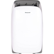 Honeywell HL Series 10,000 BTU Portable Air Conditioner, White/Gray
