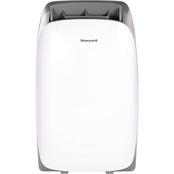 Honeywell HL Series 12,000 BTU Portable Air Conditioner, White/Gray