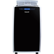 Honeywell 14,000 BTU Portable Air Conditioner with Remote Control, Black/Silver