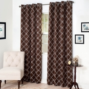 Lavish Home Room Darkening Curtains 54 X 84