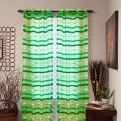 Lavish Home Sonya Grommet Window Curtain Panel 54 x 108 in.