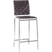Zou Criss Cross Counter Chair 2 Pk.