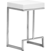 Zuo Modern Darwen Counter Stool, Set of 2