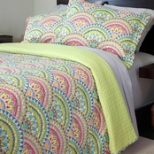 Lavish Home Melanie Quilt Set