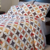 Lavish Home Cassandra Quilt Set