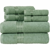 Lavish Home Cotton Hotel Towel 6 pc. Set