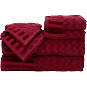 Lavish Home Egyptian Cotton Towel 6 pc. Set