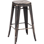 Zuo Modern Marius Barstool, Set of 2