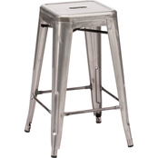 Zuo Modern Marius Counter Stool, Set of 2