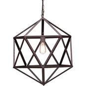 Zuo Modern Amethyst Ceiling Lamp Small