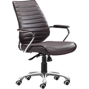 Zuo Enterprise Low Back Office Chair