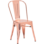 Zuo Elio Rose Goldtone Dining Chair