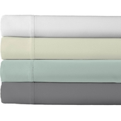 Bamboodal 300 Thread Count, 100% Rayon From Bamboo Sheet Set, White