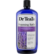 Dr Teal's Soothe & Sleep Lavender Foaming Bath 34 Oz.
