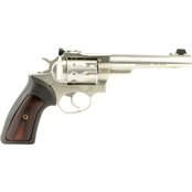 Ruger GP100 22 LR 5.5 in. Barrel 10 Rnd Revolver Stainless Steel
