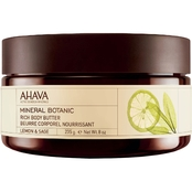 AHAVA Mineral Botanic Velvet Body Butter Lemon and Sage