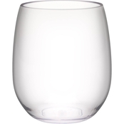 Zak Designs Stemless White Wine Glass