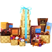 Alder Creek Gift Baskets Godiva Chocolate Tower