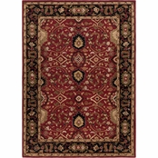 Surya Caesar Area Rug, Red, Black