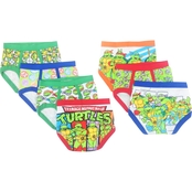 Toddler Boys Teenage Mutant Ninja Turtles Character Brief 7 Pk.