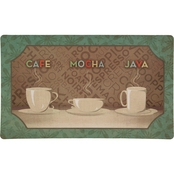 Mohawk Home Comfort Mat Coffee Selection Kitchen Mat