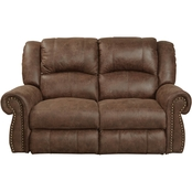 Catnapper Westin Rocking Reclining Loveseat