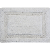 Saffron Fabs Regency 50 x 30 in. Cotton Bath Rug