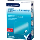 Exchange Select Waterproof Transparent Dressing Wound Cover