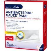 Exchange Select Antibacterial Gauze Pads