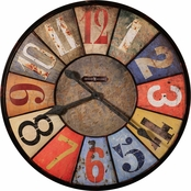 Howard Miller County Line Wall Clock