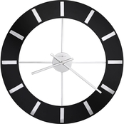 Howard Miller Onyx Wall Clock