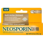 Neosporin + Pain, Itch, Scar Antibiotic Ointment, .5 Oz.