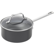 Emeril Hard Anodized Saucepan with Lid