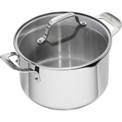 Emeril Stainless Steel 5 qt. Dutch Oven with Lid