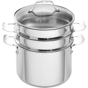 Emeril Stainless Steel 8 Qt. Multi Cooker With Lid