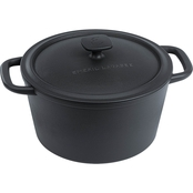 Emeril Pre-Seasoned Cast Iron 6 qt. Dutch Oven With Lid